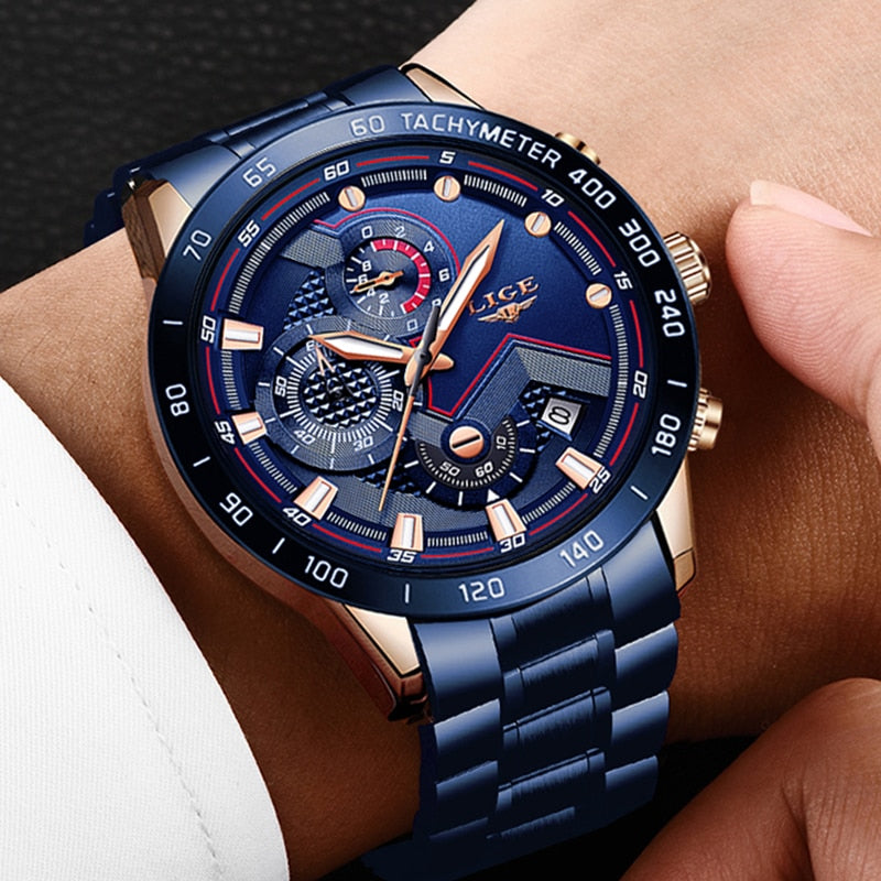 2020 New Fashion Men's Watch Relogio Masculine - Lordlys-Imperials