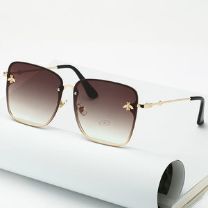 Oversized Rimless Square Sunglasses For Women - Lordlys-Imperials