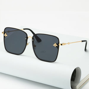 2020 New Ladies Oversized Rimless Square Sunglasses - Lordlys-Imperials