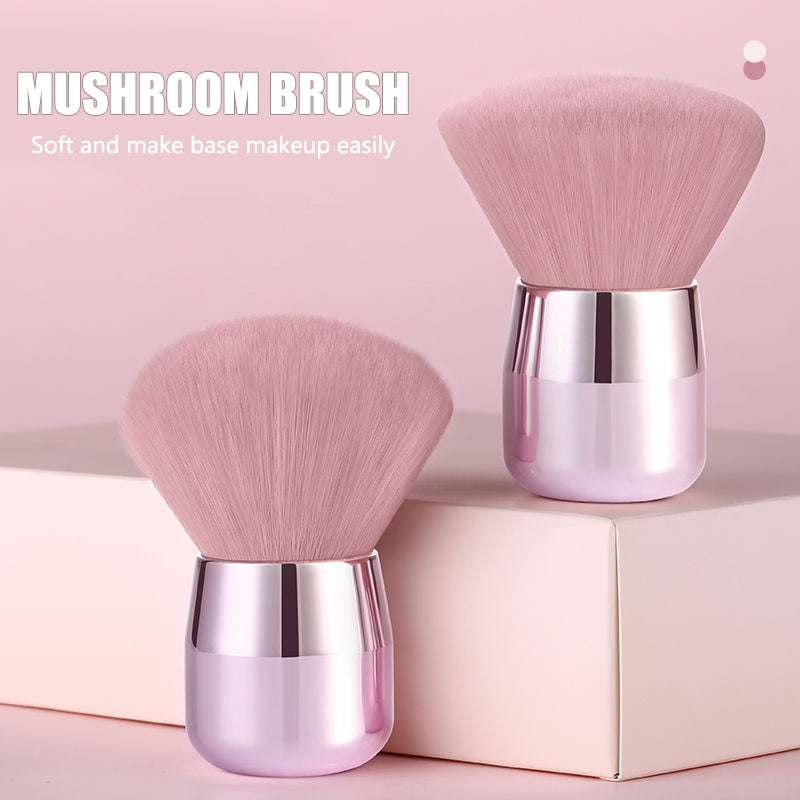 Mushroom Powder Makeup Brush - Lordlys-Imperials