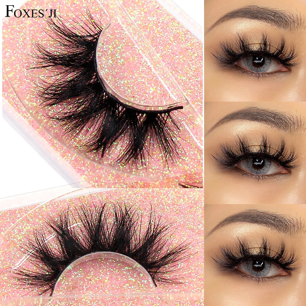 3D Fluffy Soft Wispy Eyelashes - Lordlys-Imperials