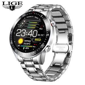 2020 New Steel Band Digital Watch For Men - Lordlys-Imperials