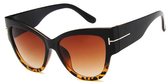 Oversized Black Vintage Woman's Sunglasses - Lordlys-Imperials