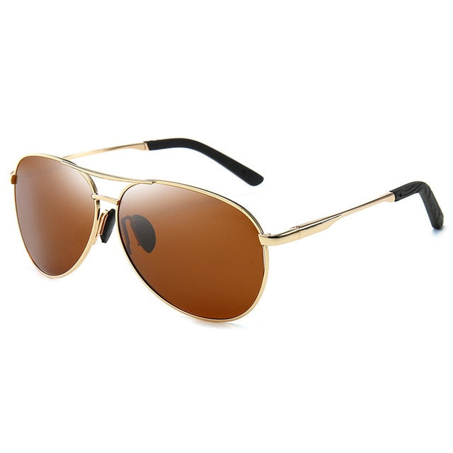 Aviation Metail Frame Polarized Sunglasses For Men - Lordlys-Imperials