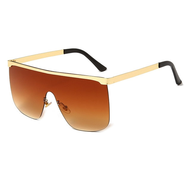 New Fashion Square Rimless Sunglasses For Women - Lordlys-Imperials