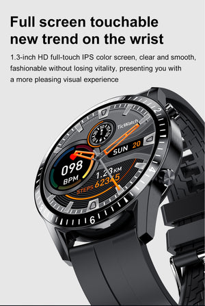 Men's Sport Waterproof Bluetooth Smart Watch For Android iOS - Lordlys-Imperials