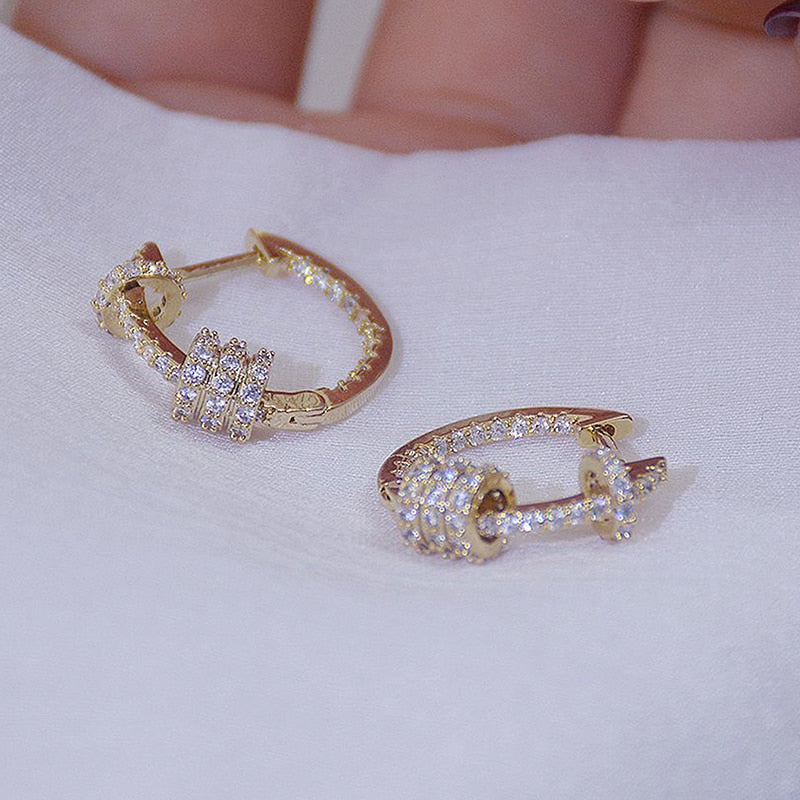 14k Real Gold Luxury Super Earrings