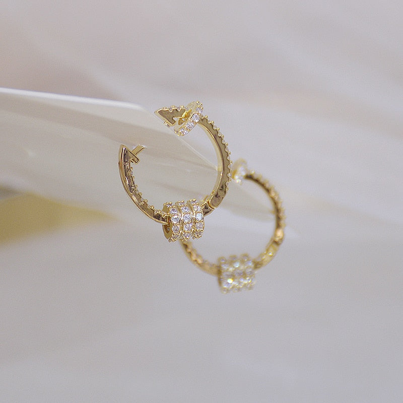 14k Real Gold Luxury Super Earrings - Lordlys-Imperials