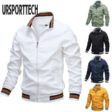 Spring Autumn Mens Jackets And Coats 2020 New Fashion Casual Men's Windbreaker Bomber Jacket Men Army Cargo Outdoors Clothes 3XL