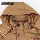 2020 New Mens Jackets Plus Size 4XL Military Bomber Jacket Men's Casual Thicken Warm Cotton Cargo Flight Jackets And Coats Male