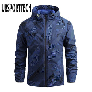 Zip Up Hoodie Jacket Men Spring Autumn Fashion Brand Slim Fit Coats Male Casual Baseball Bomber Jacket Mens Overcoat Plus Size