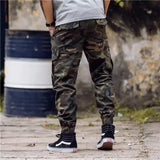 Camouflage Jogger Pants Men Cotton Sweatpant Male Tracksuit Casual Workout Fitness Pants Man Sporty Running Trousers