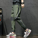 Spring autumn Men Pants Slim Fit Casual Long Pant Sportswear Cotton Mens Loose Plus Size Navy Season Sweat Pant 6XL
