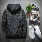 2020 New Fashion Korean Style Jacket Men Spring And Autumn Casual Trend Thin Section Slim Youth Student Camouflage Jacket Male