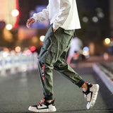 2020 New Casual Pants High Street Men Brand Clothing Elastic Male Trousers Men Joggers Leggings Pencil Pants