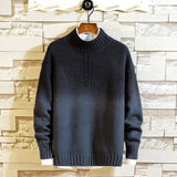 Fashion Autumn Winter Slim Fit Mens Sweaters for O-neck Casual Pullover Men Sweater Patchwork Knitted Sweaters Men