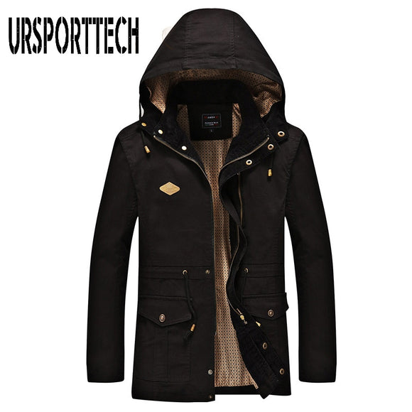 Spring Autumn 2019 New Mens Jackets Coats Casual Slim Fit Windbreaker MensThin Jacket Hooded Casual Sporting Coat Big Size 4XL