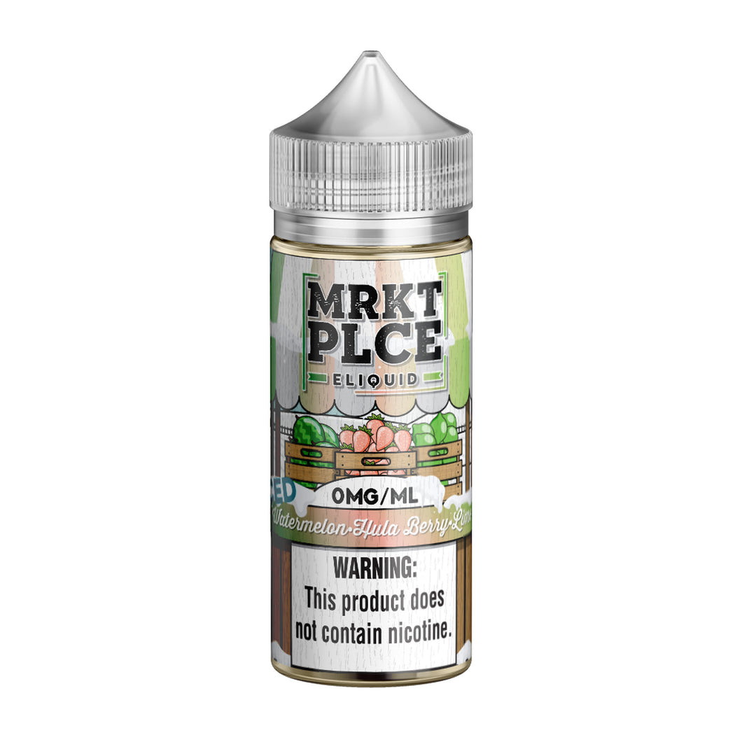 MRKT PLCE - ICED Watermelon Hula Berry Lime - 100mL