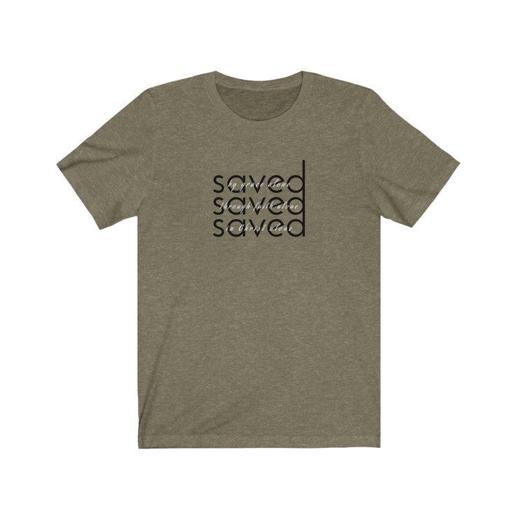 SAVED. Solas Edition. The T-Shirt