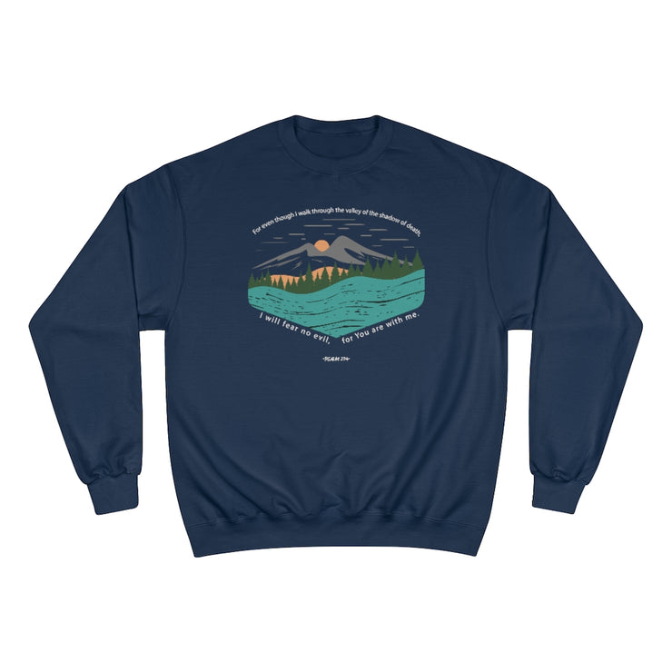 THROUGH THE VALLEY. The Champion Sweater.