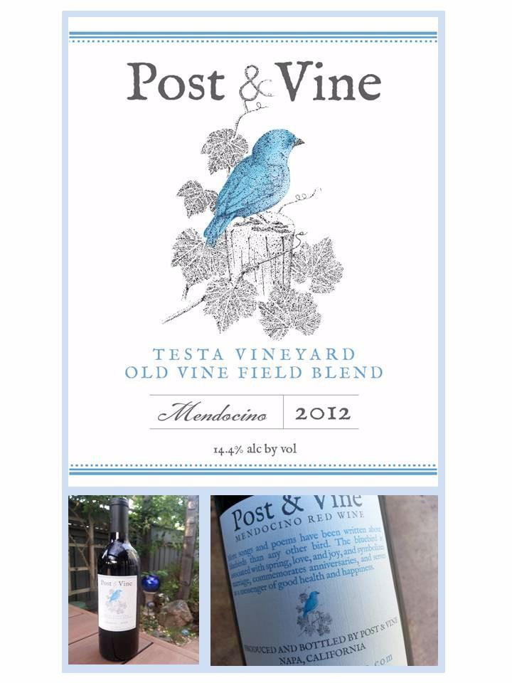 2012 Post & Vine Old Vine Field Blend  (Sold Out)
