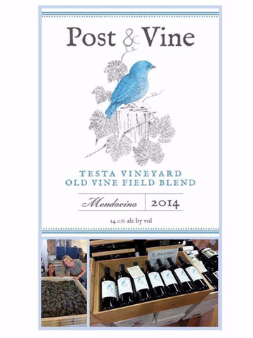 2014 Post & Vine Old Vine Field Blend