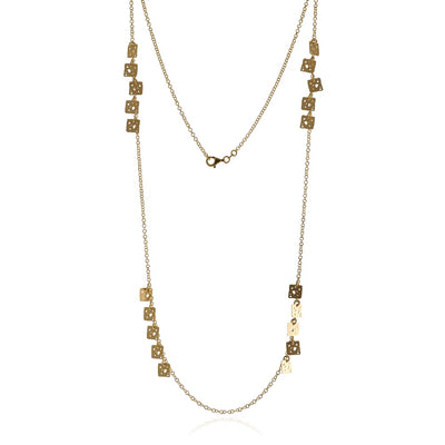 Collana Mini Square di Jewelry Brunch