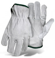 Boss Grain Cowhide Leather Driver Glove