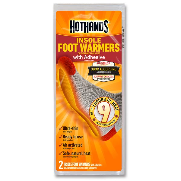Hot Hands- Insole Foot Warmers, Two Pack