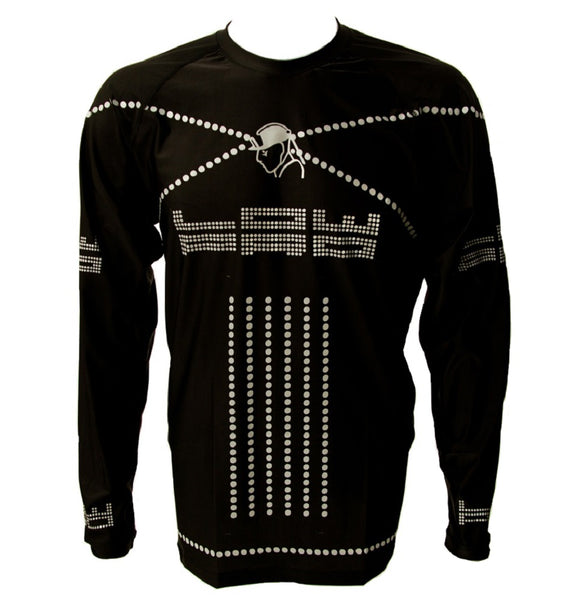 Low Pro Reflective, High Performance, Black, Long Sleeve Shirt