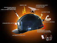 Low Pro ANSI Z89.1 Certified Hard Hat (Painted Black)