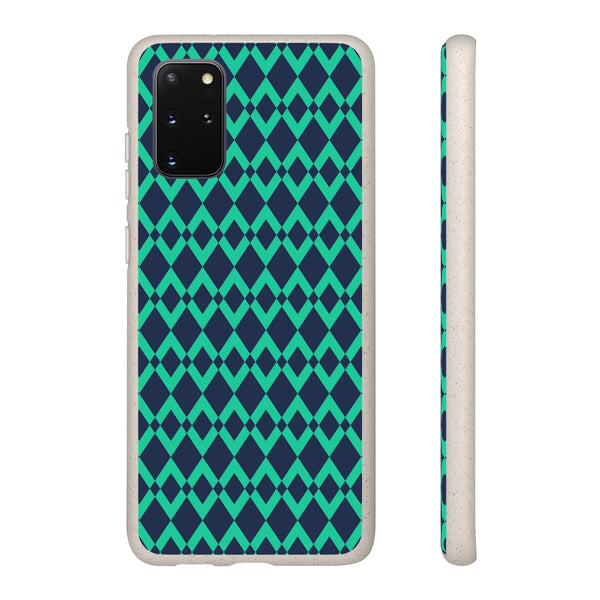 Green Gemone Samsung Galaxy Biodegradable Phone Case
