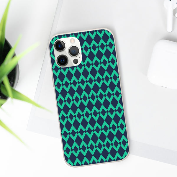 Green Gemone iPhone Biodegradable Phone Case