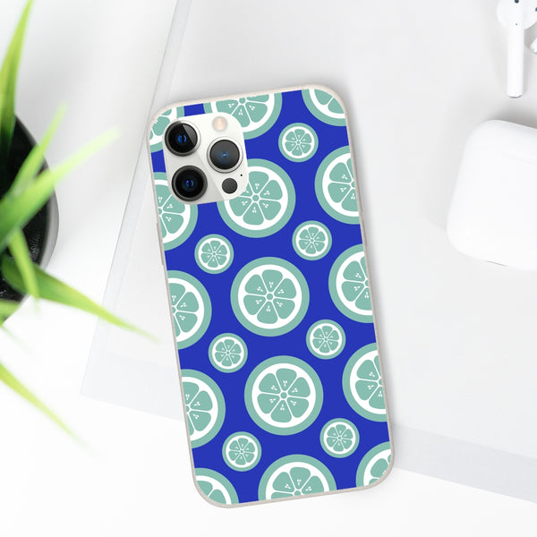 Green Citrus Fruit iPhone Biodegradable Phone Case