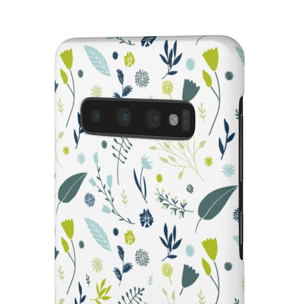 Alpine Flowers Samsung Galaxy Snap Phone Case