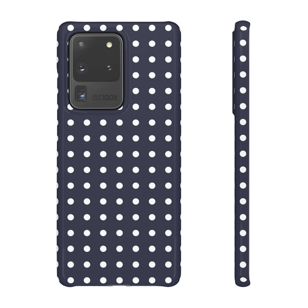 Purple Polka Dot Samsung Galaxy Snap Phone Case