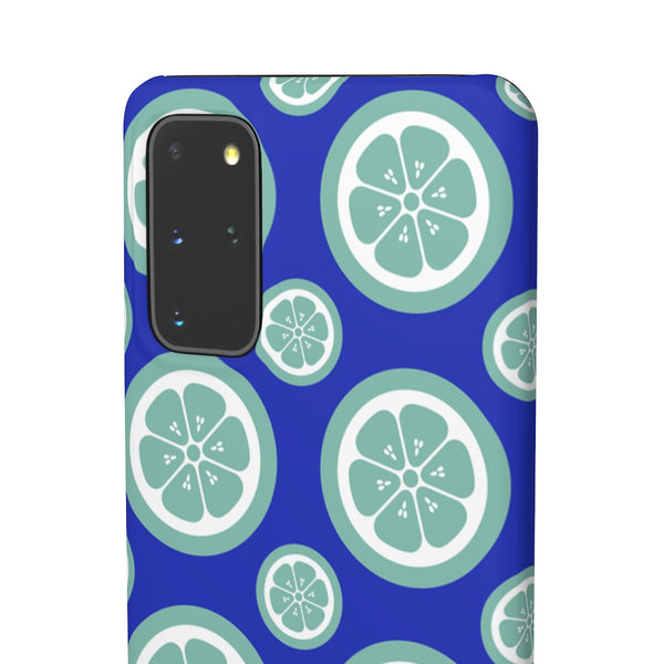 Green Citrus Fruit Samsung Galaxy Snap Phone Case