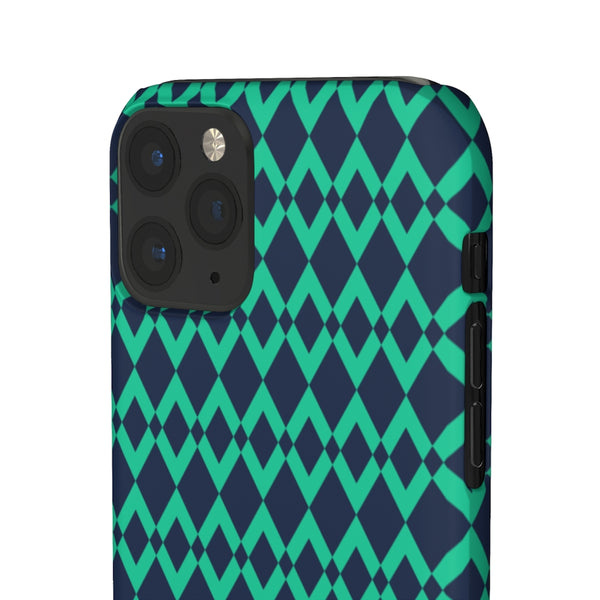 Green Gemone iPhone Snap Phone Case
