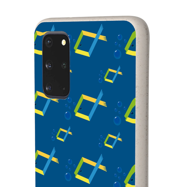 Tropical Fish Samsung Galaxy Biodegradable Phone Case