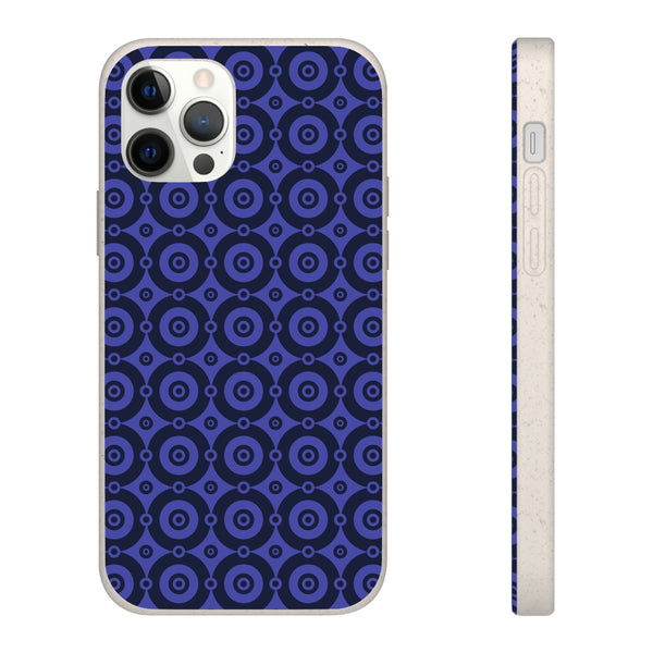 Purple Lumina iPhone Biodegradable Phone Case