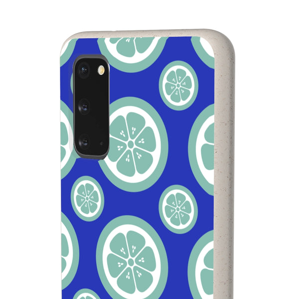Green Citrus Fruit Samsung Galaxy Biodegradable Phone Case