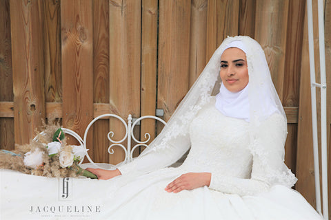 bridalstyling hijabstyling bruidsstyling