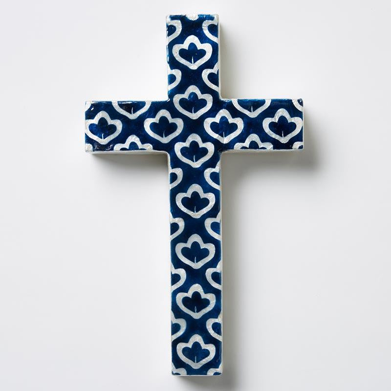 BLUE LOTUS CROSS