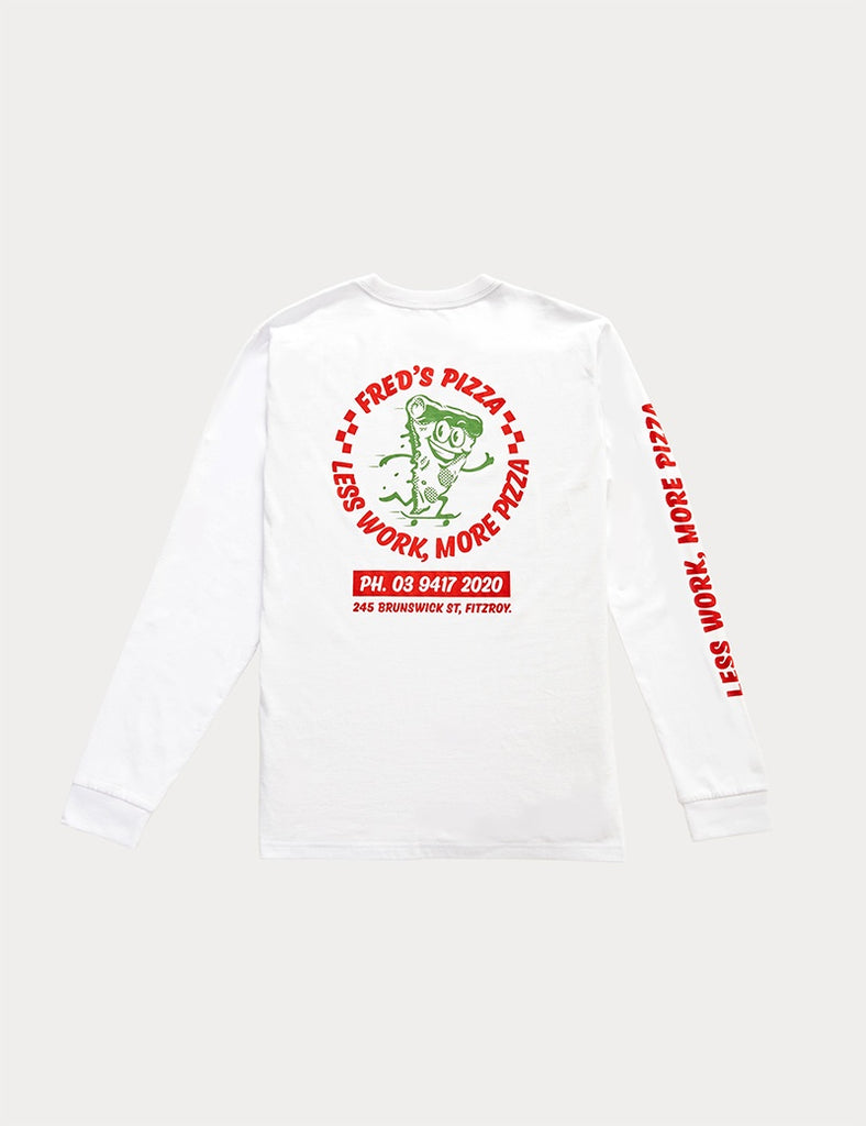 TOURIST TEE LS - FREDS PIZZA