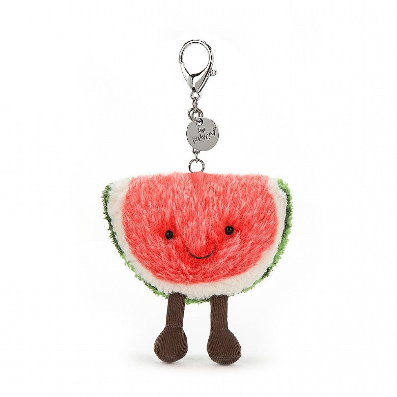 JELLYCAT AMUSEABLE WATERMELON BAG CHARM