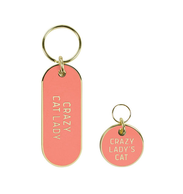 KEYCHAIN AND PET TAG SET