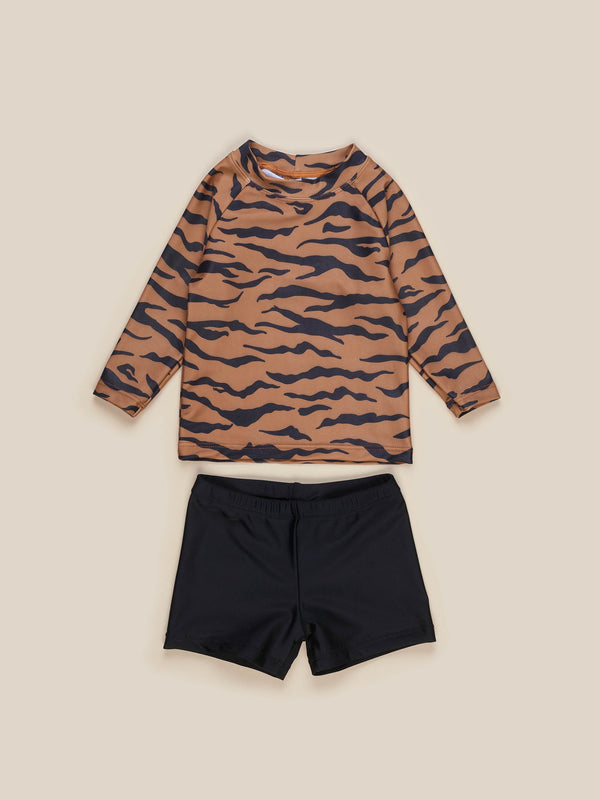 TIGER RASHGUARD (2PC SET)