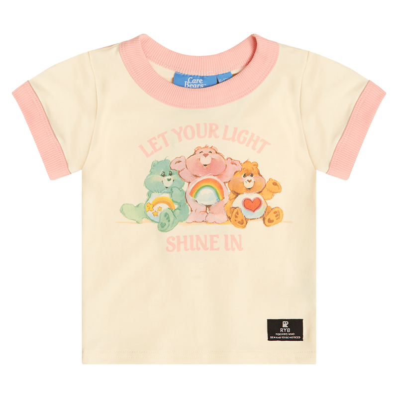 LET YOUR LIGHT SHINE BABY TEE