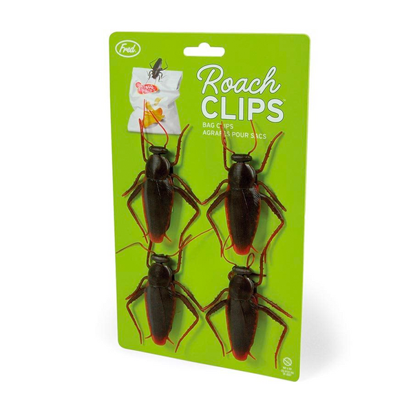 FRED ROACH CLIPS - FOOD BAG CLIPS
