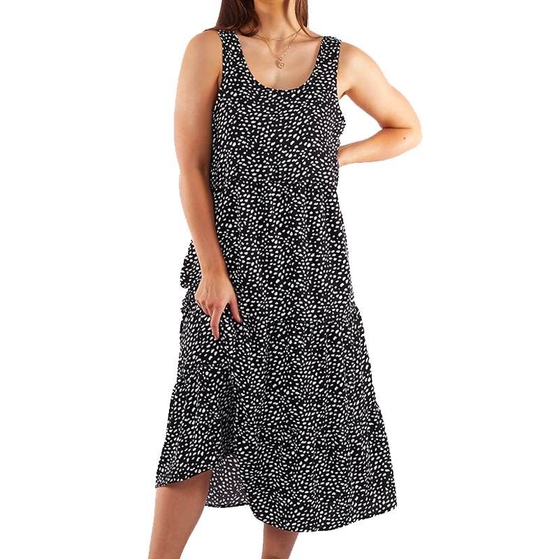 WHITNEY MIDI DRESS